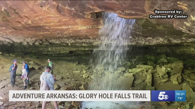 Adventure Arkansas: Glory Hole Falls Trail