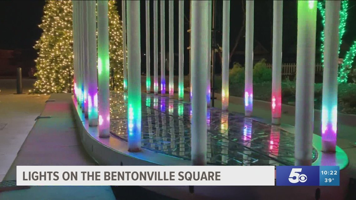 Adventure Arkansas: Lights on the Bentonville Square
