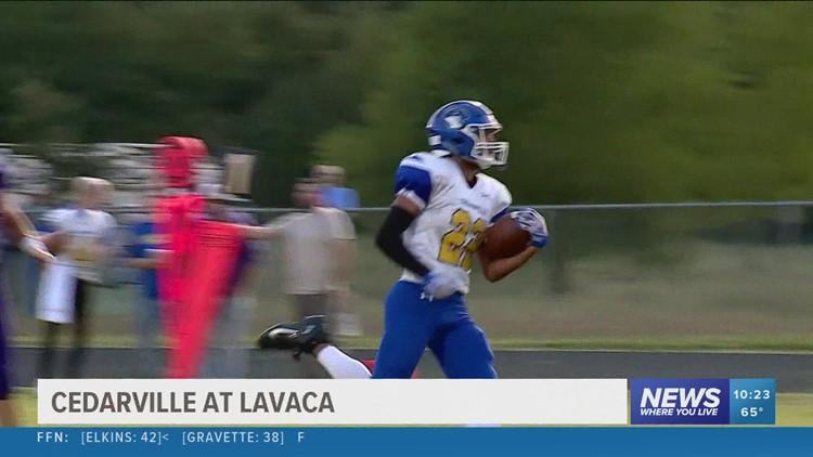 Cedarville knocks off Lavaca; improve to 4-0
