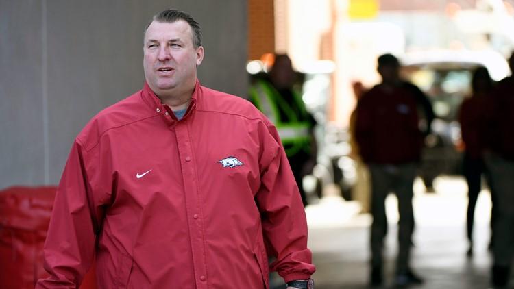 Razorback Foundation court case against former Arkansas football coach Bret Bielema pushed to 2022
