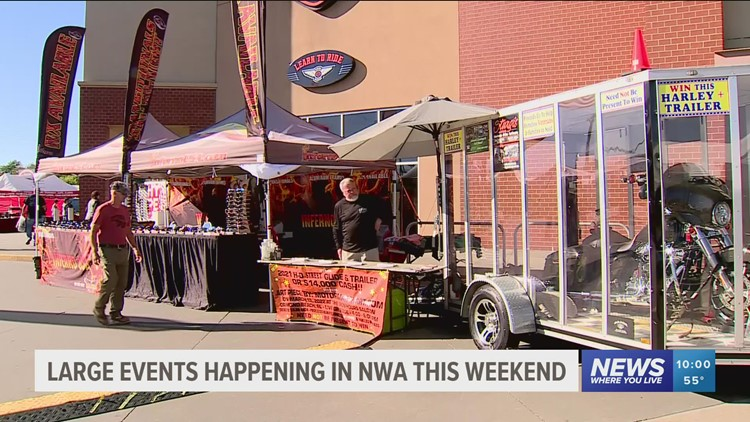 Large community events bring a busy weekend for businesses