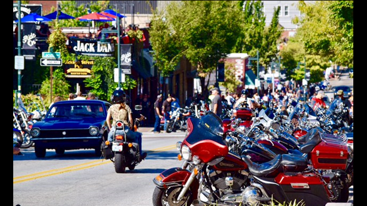 Street Closures And Modifications During Bikes, Blues & BBQ