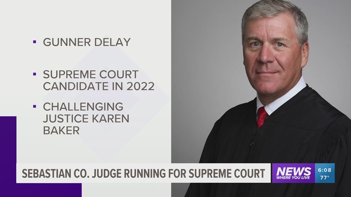 Arkansas judge announces bid for state Supreme Court seat
