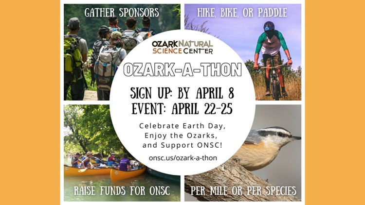 Ozark Natural Science Center to host Ozark-a-Thon