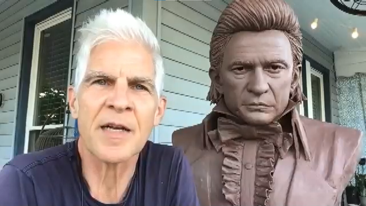 Arkansas native honored to work on Johnny Cash sculpture for U.S. Capitol