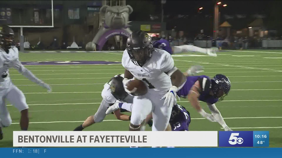 Fayetteville takes down Bentonville in 5NEWS Game of the Week