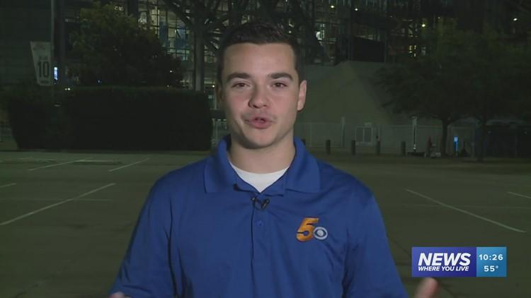 5NEWS Sports Director Jacob Seus recaps Arkansas' big 20-10 win over Texas A&M in Arlington.