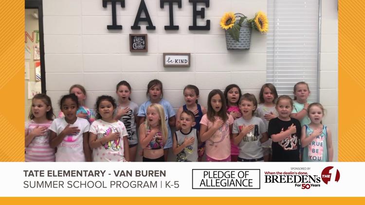 Tate Elementary, Van Buren Summer School Program K-5