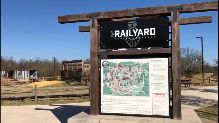 Adventure Arkansas: Rogers Railyard Bike Park