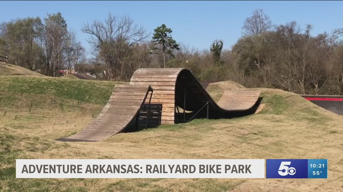 Adventure Arkansas: Rogers Railyard Bike Park