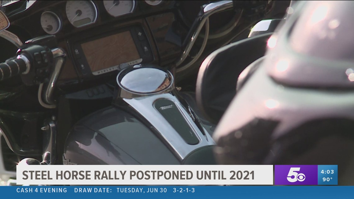 Steel Horse Rally in Fort Smith postponed until 2021