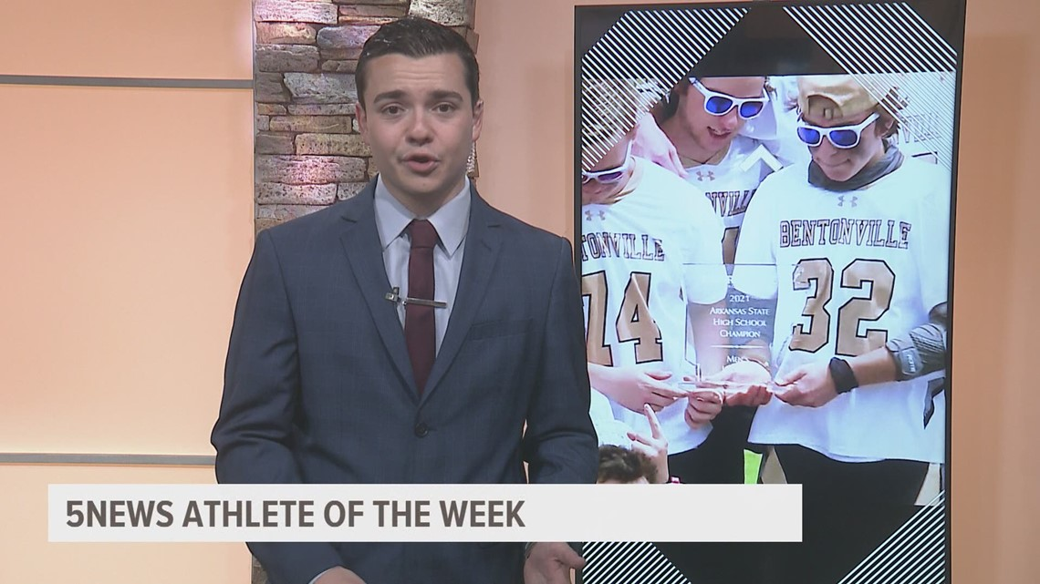 5NEWS Athletes of the Week: Bentonville boy's lacrosse