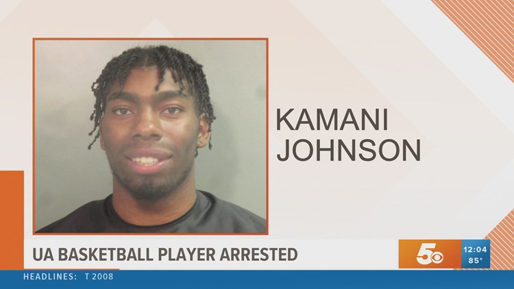 University of Arkansas basketball player arrested for 'disorderly conduct' on Dickson Street