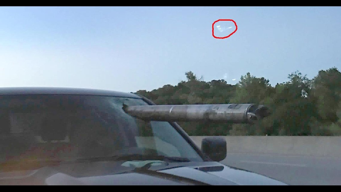 Driver Says Angel Was With Him As Driveshaft Came Flying Through Windshield 5newsonline Com