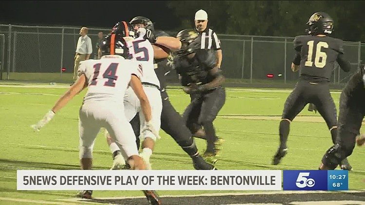 5NEWS Defensive Play of the Week: Bentonville Tigers