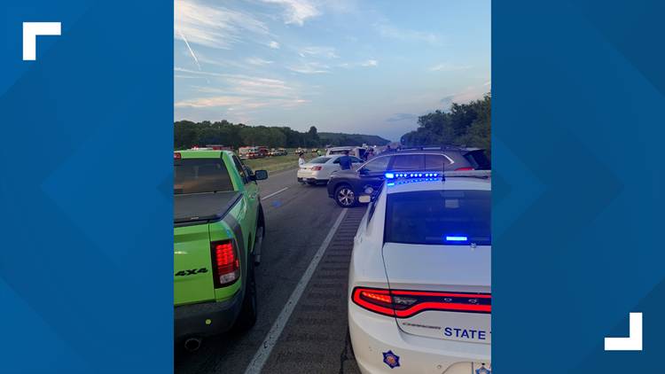 Two women killed, two minors taken to hospital after fatal I-40 Crawford Co. crash