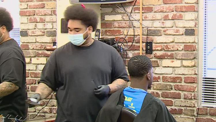 Black-owned hair salons and barbershops provide a