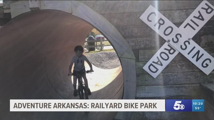 Adventure Arkansas: Railyard Bike Park