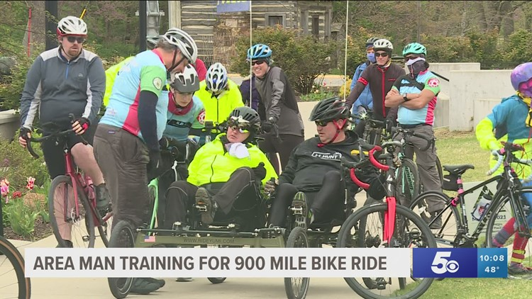Springdale local plans to bike 900 miles after suffering traumatic brain injury