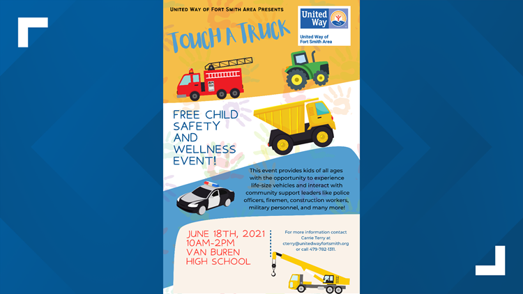 Touch-A-Truck returns to Fort Smith for the first time since 2018 on June 18