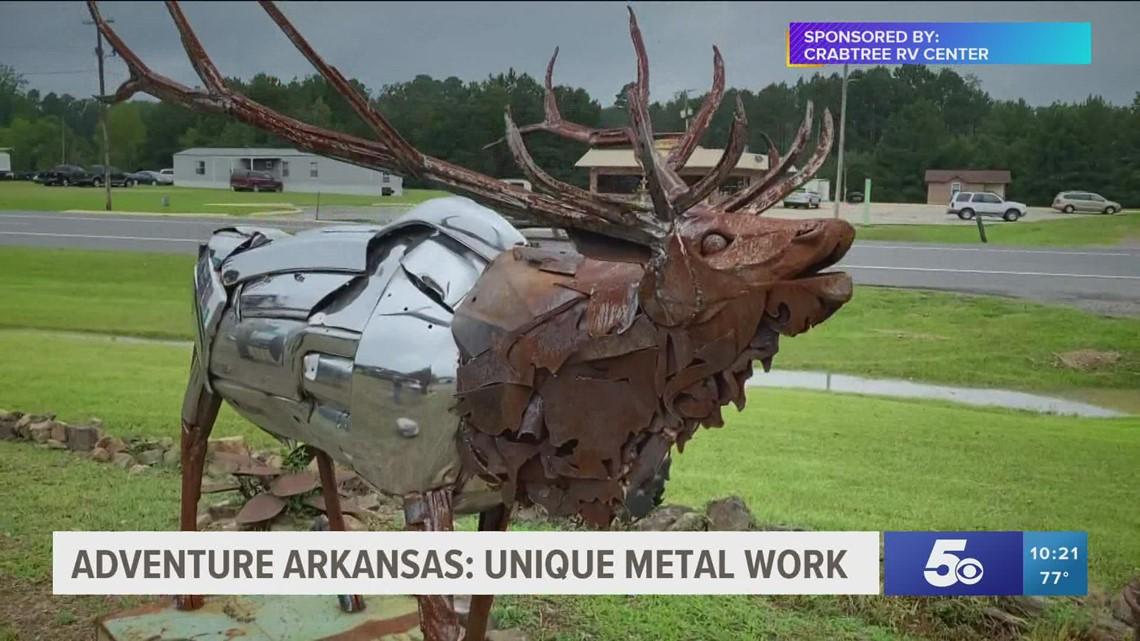 Adventure Arkansas: Unique Metal Work
