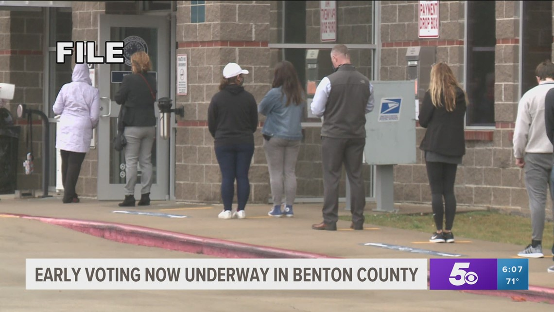 Several City of Bentonville bond issues on the Benton County special election ballot