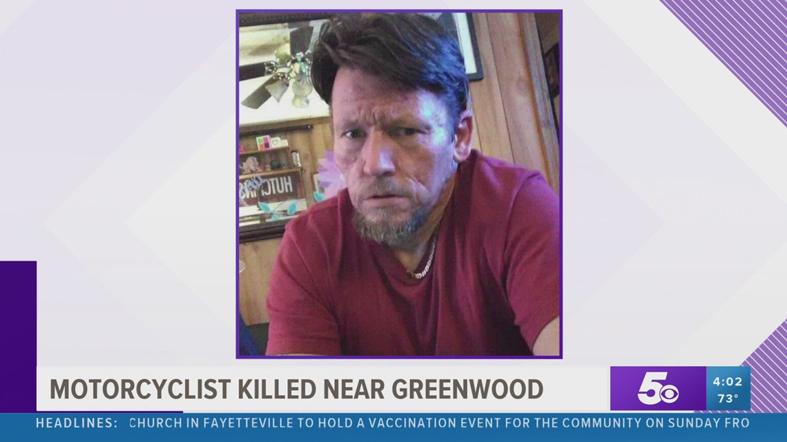 Motorcyclist killed near Greenwood