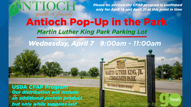 Tyson Foods joins Antioch for one of last scheduled 'Pop-Up in the Park' events April 7