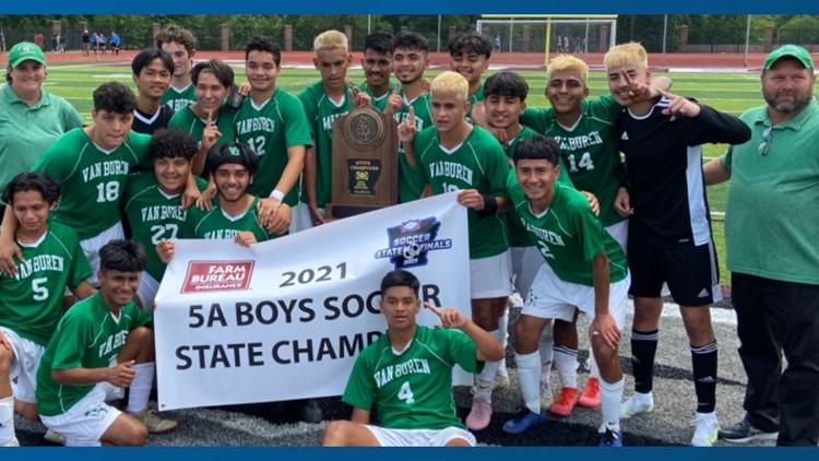 Van Buren boys soccer wins 5A State Title