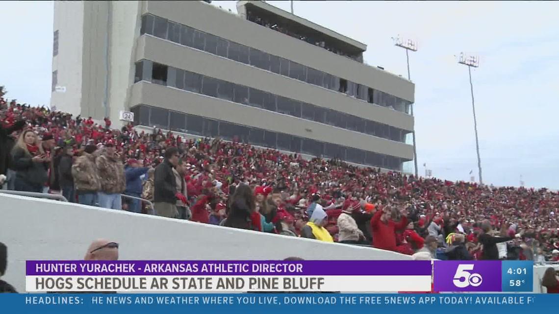 Razorbacks to play Arkansas State in Little Rock