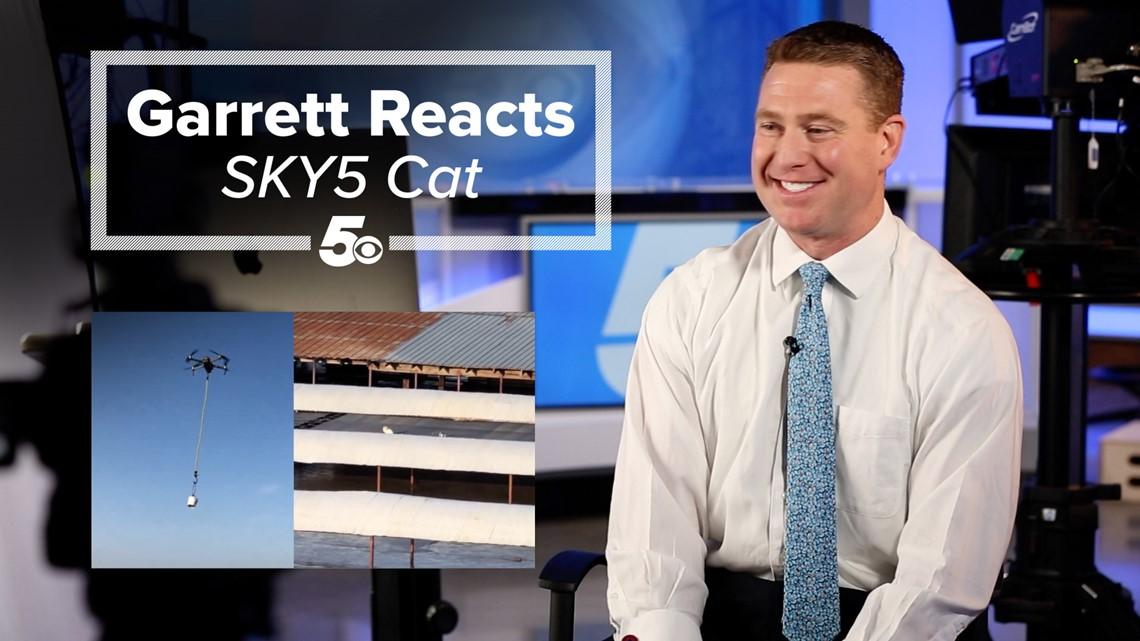 Garrett Reacts - SKY5 Cat