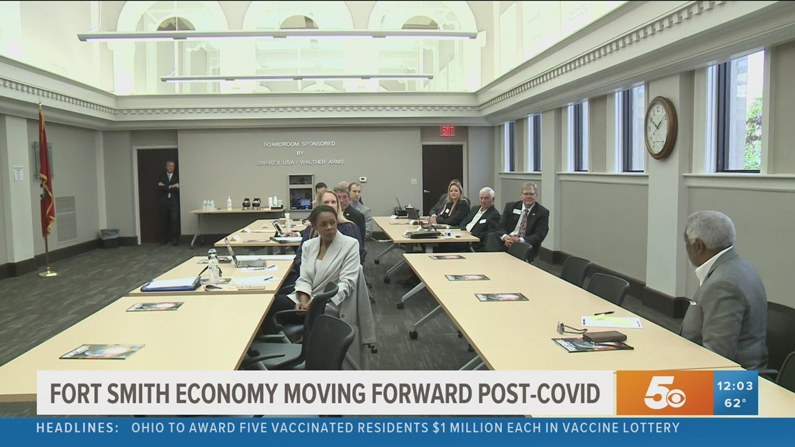 Arkansas commissioners meet in Fort Smith to discuss COVID-19 impact on state economy