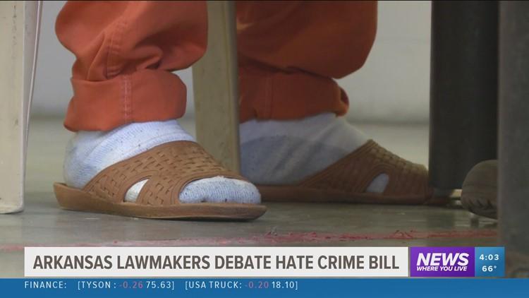 Arkansas lawmakers debate hate crime bill