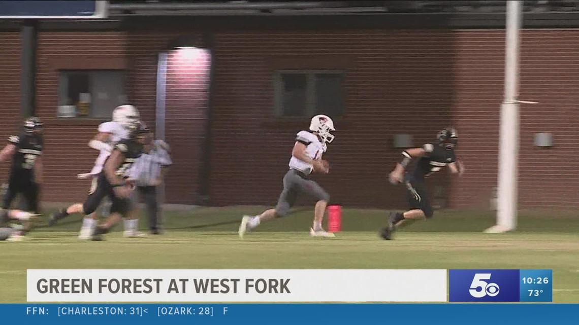 Green Forest wins over West Fork