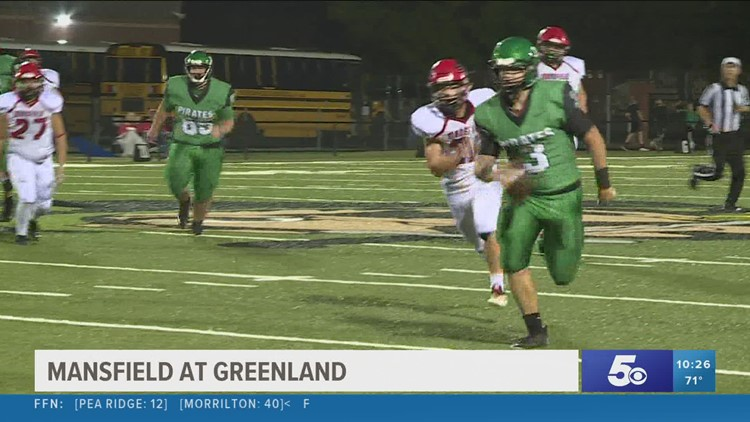 Greenland takes down Mansfield