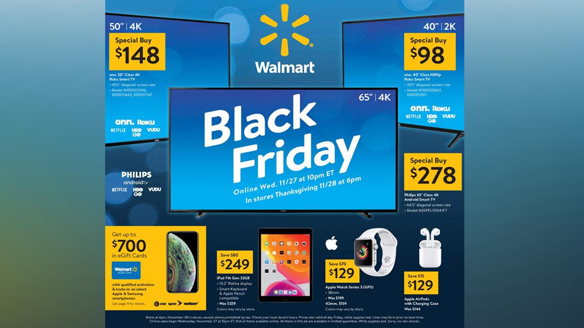 Walmart Black Friday 2019 Ad Has Electronics Doorbusters And More 5newsonline Com