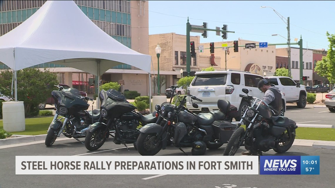 Steel Horse Rally kicks off Friday in downtown Fort Smith