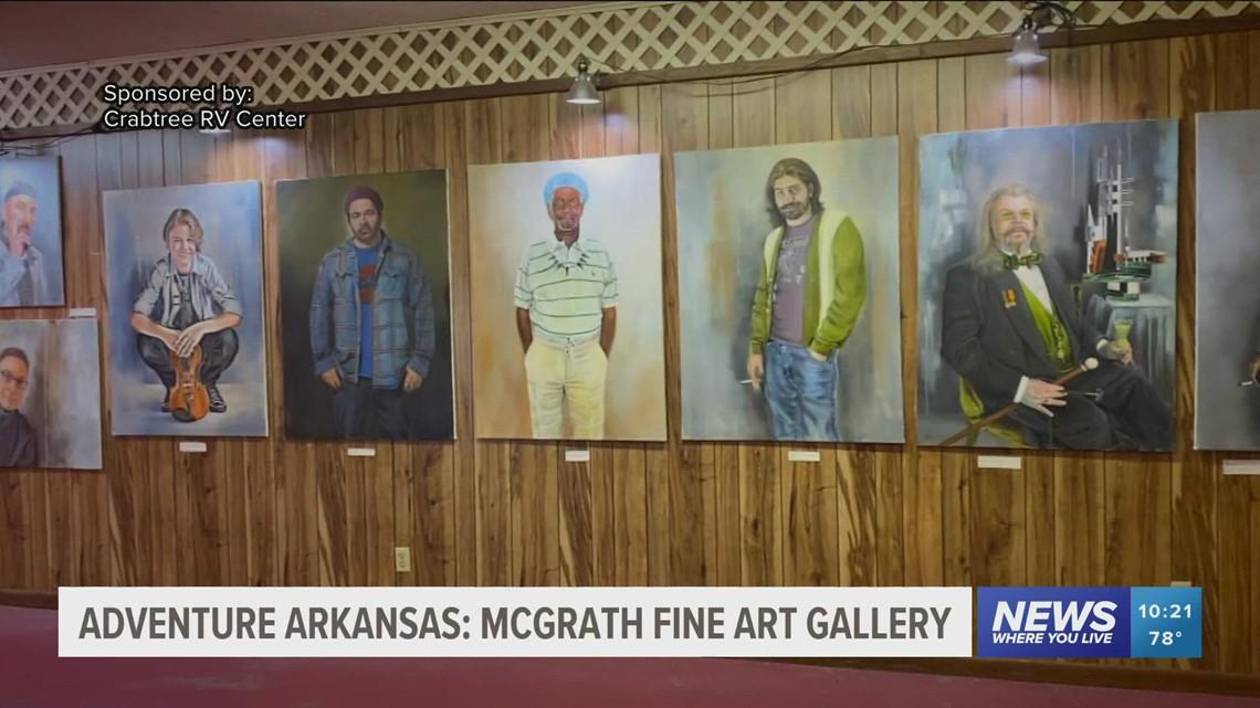 Adventure Arkansas: McGrath Fine Art Gallery