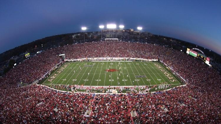 Arkansas football to take on Arkansas State at War Memorial Stadium in 2025