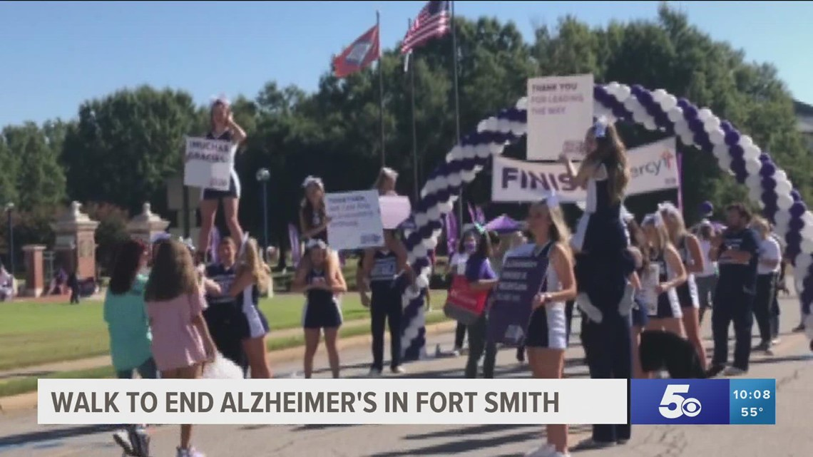 Walk to End Alzheimer's raises thousands of dollars in Fort Smith