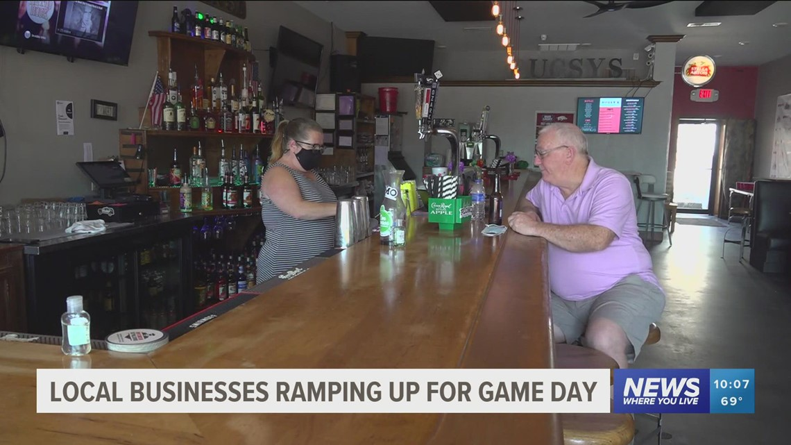 Businesses prepare for busy weekend ahead after pandemic losses