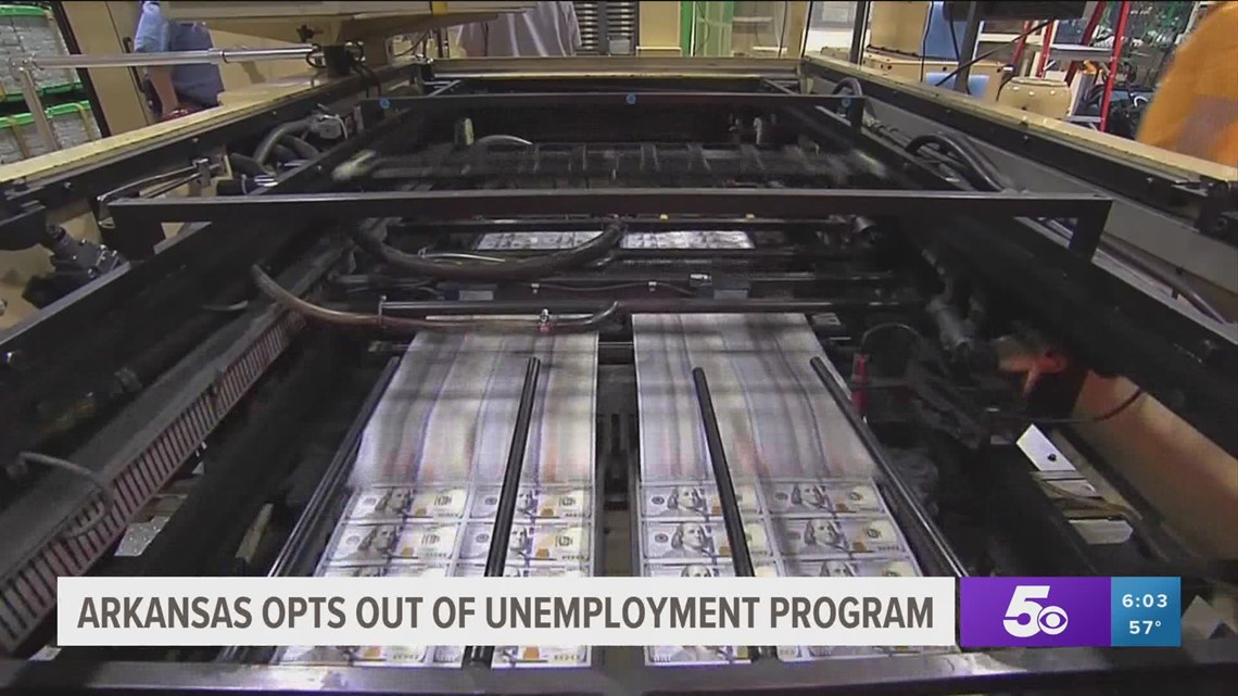 Arkansas to end federal unemployment program payment boost
