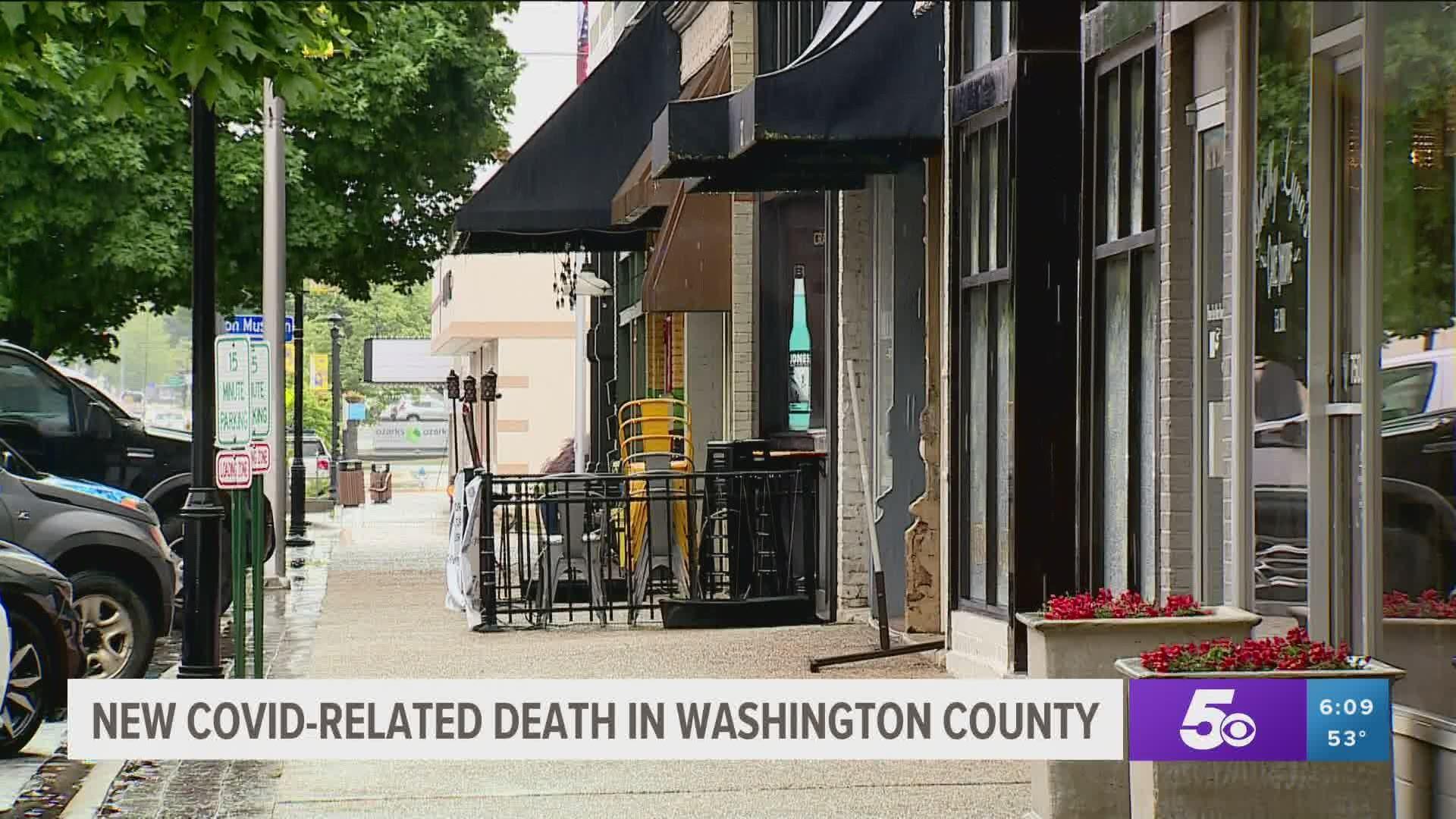 Washington County Arkansas Halloween 2020 Event 6th coronavirus death confirmed in Washington County   5newsonline.com