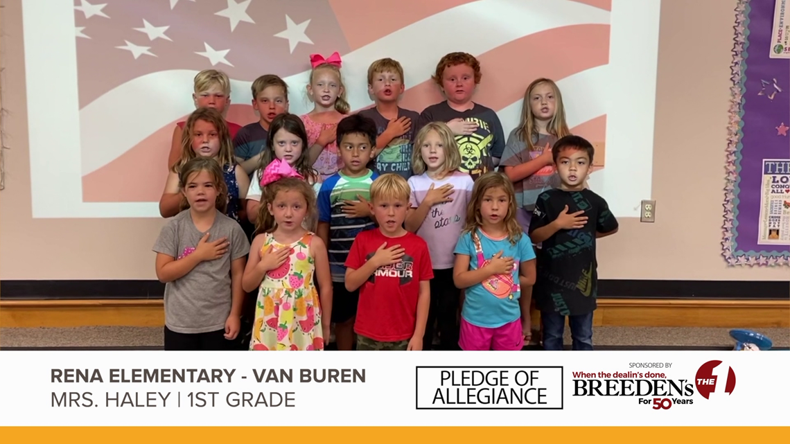 Mrs. Haley 1st Grade Rena Elementary, Van Buren