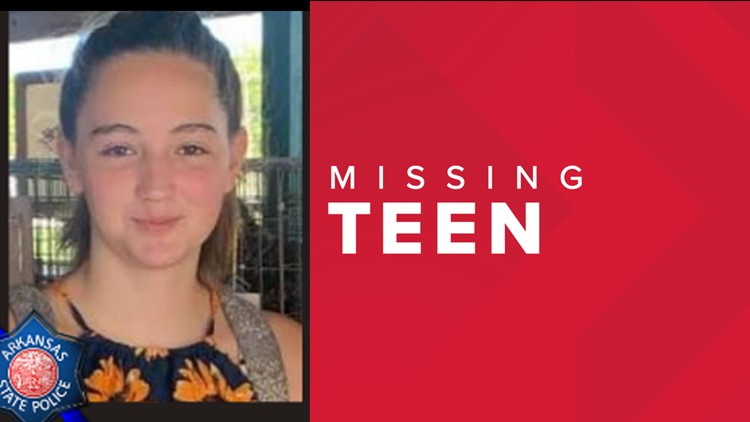 Arkansas State Police search for missing teen