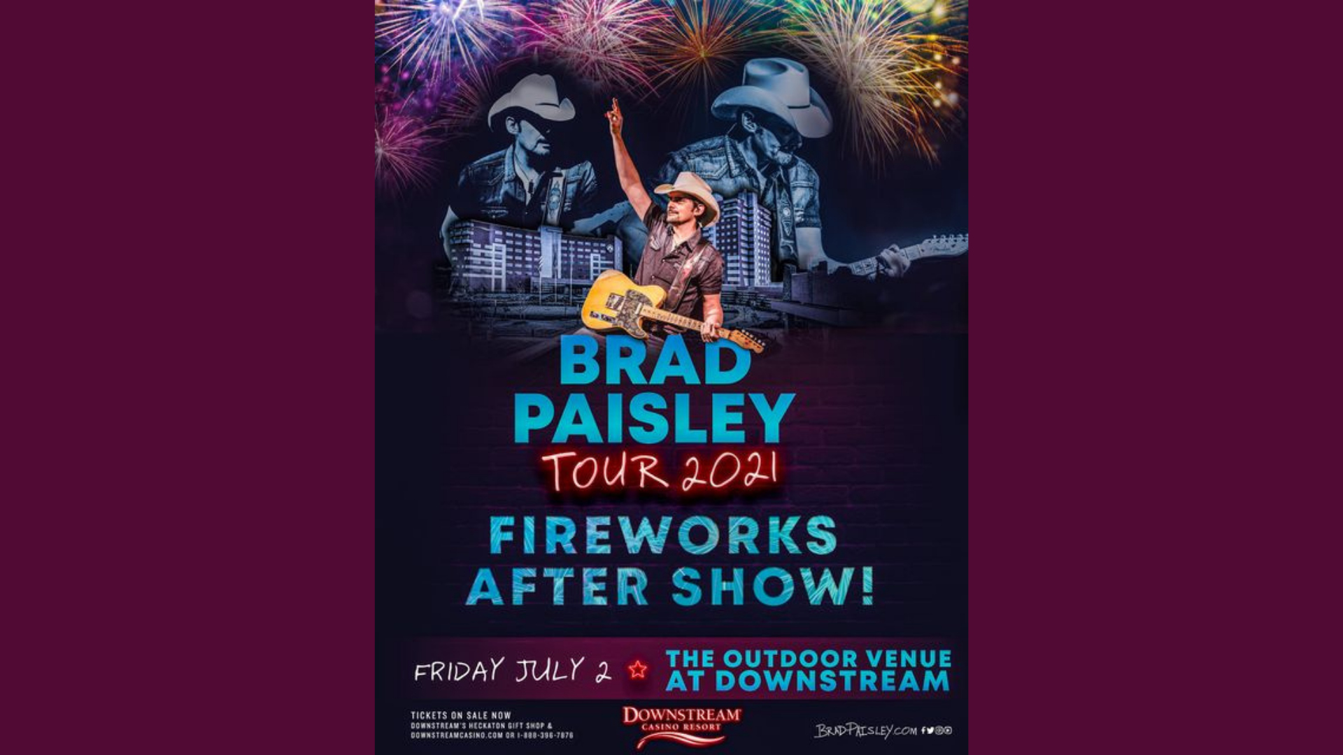 Brad Paisley Ticket Giveaway