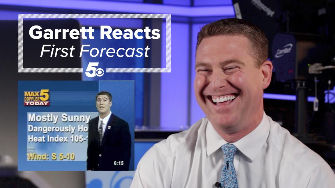 Garrett Reacts - First Forecast