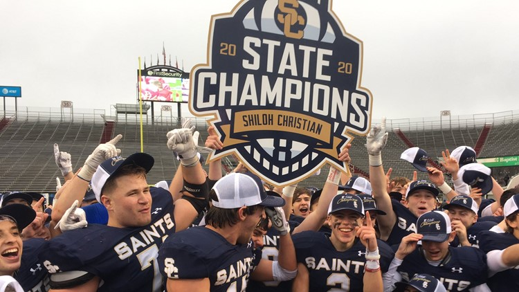 Shiloh Christian wins eighth state championship in school history