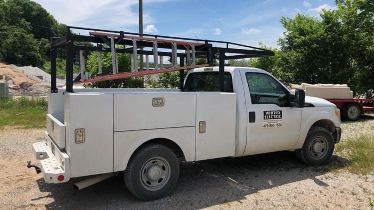 Bella Vista Police search for truck thief