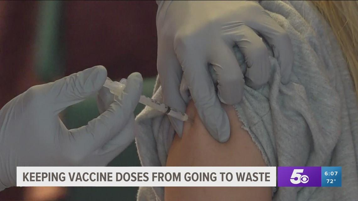 Keeping Covid-19 vaccine doses from going to waste